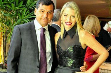 Kiko Assis e Carolina Massière