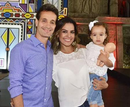 Rodolfo, Lívia Rossy e Bruna